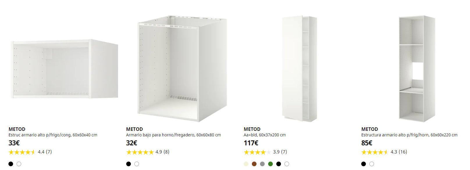 Muebles de cocina Metod IKEA